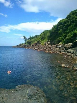 海もとっても綺麗