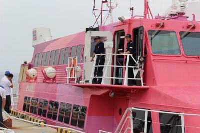 この日は元町港に到着。